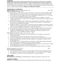 Award Winning Resume Examples by Excellent Resume Example For Transportation Engineering Position