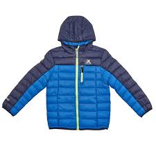 boys hooded color block down jacket with bonus bag 4 7 711617754
