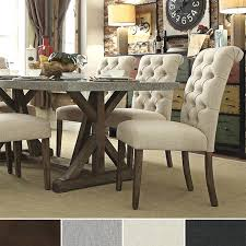 White Leather Dining Room Chair by Tufted Dining Room Chair U2013 Adocumparone Com