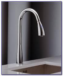 delta touch kitchen faucet battery faucets home design ideas
