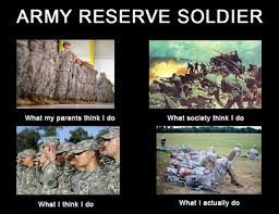 Army Reserve Meme - army reserve soldier how will you prepare for