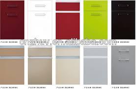 Moistureproof High Gloss Arcylic Panel Glazed Kitchen Cabinet - High gloss kitchen cabinet doors