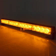 orange led light bar vsled 16 led light recovery lightbar flashing beacon light emergency