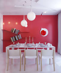 Red Dining Room Table And Chairs Download Red Dining Room Wall Decor Gen4congress Com