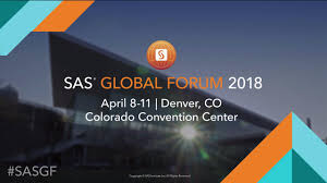 sas global forum 2018 sas