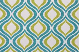 Indoor Outdoor Fabric For Upholstery Richloom Solarium Zinger Outdoor Fabric In Peacock