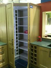 Kitchen Cabinets Corner Pantry Corner Pantry Wickes Hedge End Uk Wine Rack In Or Next To It