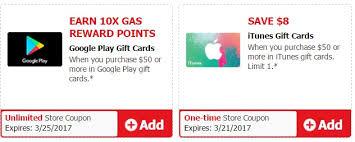 gas gift card deals free money rewards at safeway albertsons with 10 on visa