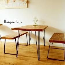 vintage hairpin table legs get an old vintage table top and add hairpin legs home decor