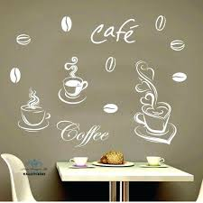 Coffee Wall Decor Inspiration Coffee Cup With Love Heart Vinyl