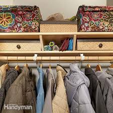 easy shelving ideas tips for home organization family handyman