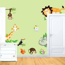 forest friends wall decal woodland animal wall stickers forest