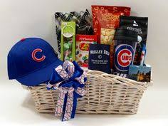 Gift Baskets Chicago Go Cubbies Chicago Cubs Gift Basket Projects Pinterest