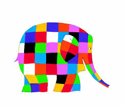 Patchwork Elephant Book - storystock elmer the patchwork elephant omnibus theatre