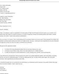 resume examples templates principal cover letter easy writing