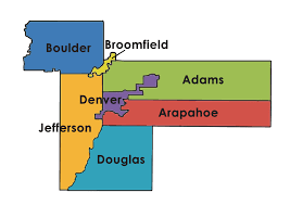 Map Of Denver Metro Area by Seven Counties Of Impact