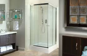 Teak Outdoor Shower Enclosure by Tigris Square Corner Or Glass Enclosures Shower Advanta By Maax