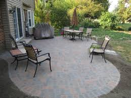 Simple Paver Patio Small Paver Patio Designs Landscaping With Pavers Reputable