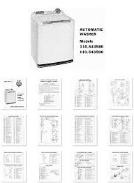 kenmore 500 washer manual washer dryer library parts list for kenmore automatic washer