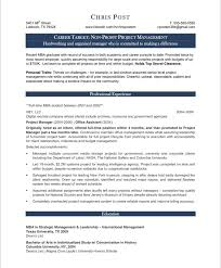 Sample Resume Management by Cover Letter Construction And Project Management Specialist Resume