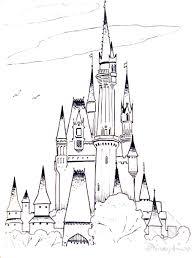 disney junior coloring pages pdf frozen castle free printable