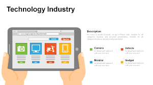 technology industry powerpoint templates powerslides
