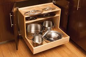 Kitchen Organizers For Cabinets Pots U0026 Pans Storage Cookware Cabinets Dura Supreme Cabinetry