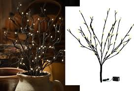 lighted branches lighted branches black glitter branch antique farmhouse