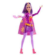 halloween barbie doll barbie fire super hero woman doll pretend play mattel dhm65