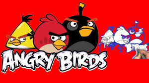 amazing angry birds drawing kids learning draw picture