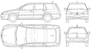 mitsubishi lancer wagon mitsubishi lancer wagon 2005 blueprint download free blueprint