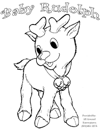 rudolph coloring pages for kids coloring home