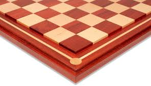 Wooden Chess Set Mission Craft African Padauk Blood Rosewood U0026 Maple Solid Wood