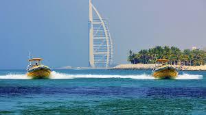 yellow boats palm jumeirah u0026 burj al arab boat tour dubai headout