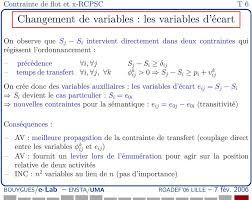 transfert de si e contrainte de flot pour rcpsp avec temps de transfert pdf