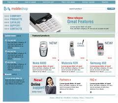 ecommerce templates free web templates free css templates