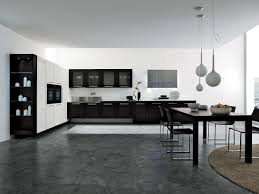 30 Black And White Kitchen Design Ideas Digsdigs by Dogma Kitchen Cabinets