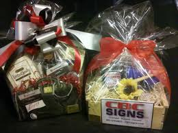 ideas for gift baskets custom marketing exles special event and silent auction gift
