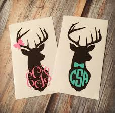 monogram stickers 12 best made for me images on yeti decals