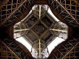 eiffel tower interior file the eiffel tower paris france jpg wikimedia commons