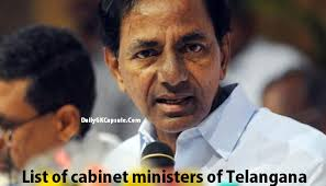 Central Cabinet Ministers Telangana Cabinet Ministers List 2016 17 Pdf Download Sbi Clerk