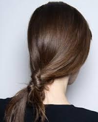 Hochsteckfrisurenen Auf Englisch by Pfw Hair Sculpted Chignons By Redken At Akris F W 2014 Updos