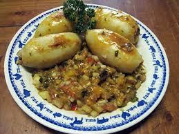cuisiner le calamar recette de calamars farcis aux légumes de provence