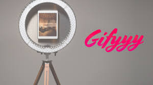 portable photo booth gifyyy the world s simplest most portable photo booth by