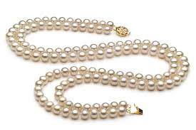 necklace pearl set images 6 7mm aa quality freshwater cultured pearl set in liska white for jpg