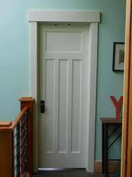 Home Interior Doors by Craftsman Trim Paneled Door Hammer Like A Home Re Vamps
