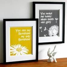 Gray Yellow Bathroom - for the grey and yellow bathroom i love the dandelion but maybe