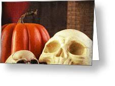 halloween greeting cards fine art america