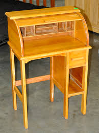 Small Roll Top Desks by Auction Catalog