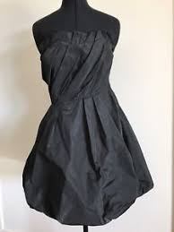 kookai dress strapless black size 2 formal cocktail evening ebay